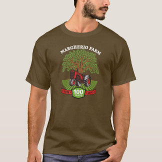 Mens-100 Year TShirt Brown