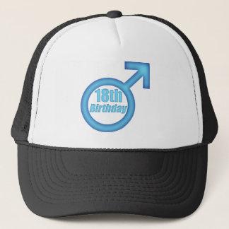 Men's 18th Birthday Gifts Trucker Hat