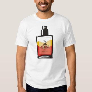 """""""Men's 2 Stroke Cologne"""" White Sledders.com Shirt"""