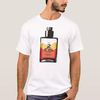"""Men's 2 Stroke Cologne"" White Sledders.com Shirt"