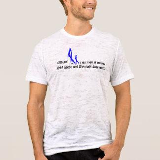 Men's 2NOBBIR SymbolofFreedom CanvasFittedBurnout T-Shirt