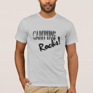 Men's 3/4 Sleeve Raglan - Campig Rocks T-Shirt