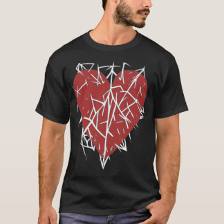 Mens A Heart Impaled top