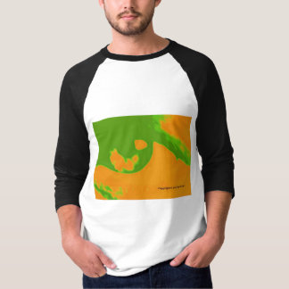 Men's abstract eye t-shirt