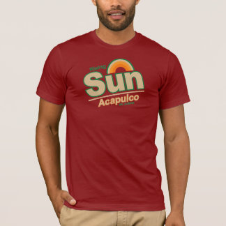 Men's ACAPULCO RISING SUN T-Shirt