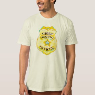Men's Accounting tshirt - Chief Financial Officer