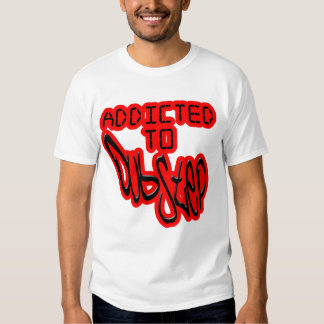 mens addicted to Dubstep club D  shirt