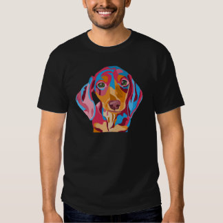 Mens Adult Dachshund T-shirt