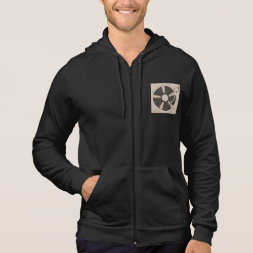 Men's American Apparel California Fleece DJ Hoodie
