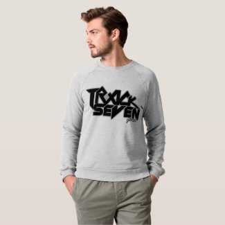 Men's American Apparel Grey Logo Sweatshirt