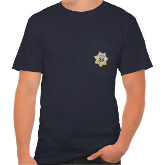 Men's American Apparel Pocket T-Shirt_ Guard Force Tee Shirt