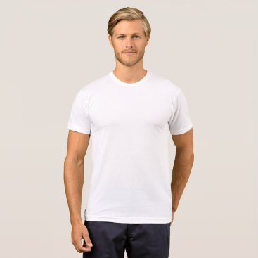 Beach Themed Men's American Apparel Poly-Cotton T-Shirt