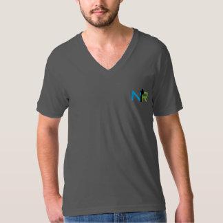 Mens American Apparel V-Neck T-Shirt