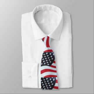 Men's American Flag Necktie