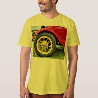 Men's antique tire t-shirt