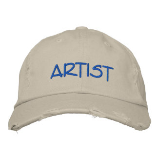 Mens ARTIST Hat Embroidered Hat