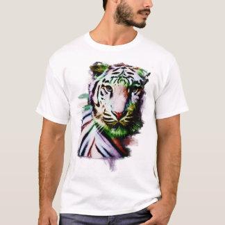 Men's Artistic Tiger T-Shirt