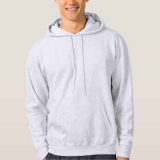 Mens Ash Hooded Sweatshirt