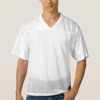 Men's Augusta Replica Football Jersey by creativeconceptss at Zazzle