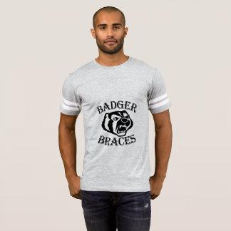 Men's Badger Brace Football T T-Shirt