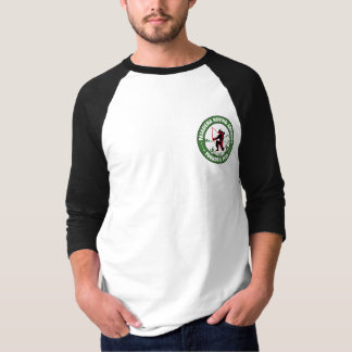 Men's Baseball Tee Pocket Logo