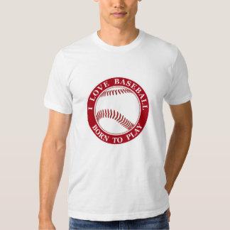 Men's Baseball Theme T-Shirt