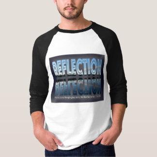 Men's Basic 3/4 Sleeve Raglan T-Shirt, White/Black T-Shirt