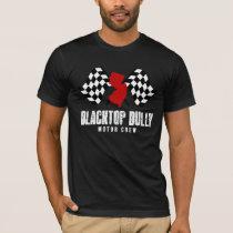 Men's Basic American Apparel Black Tee - Full Logo