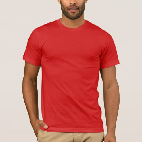 Mens Basic American Apparel T_Shirt