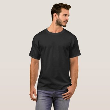 Beach Themed Men's Basic Dark T-Shirt