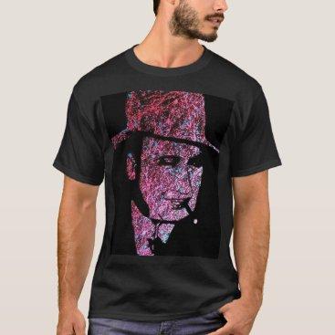 Art Themed Men's Basic Dark T-Shirt