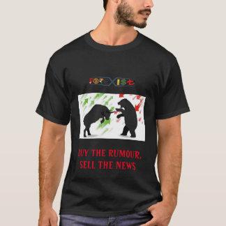 Men's Basic Dark T-Shirt by Forexisti