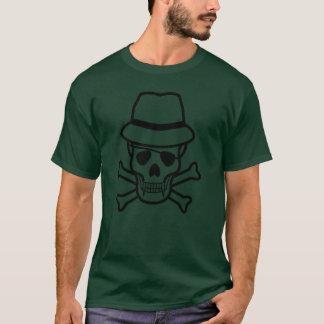 Men's Basic Dark T-Shirt/Vampire Skull T-Shirt