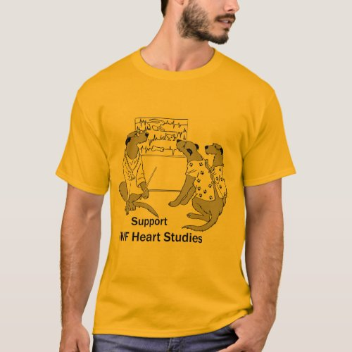 Mens Basic Heart Study T_Shirt