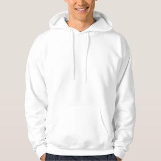 Mens Basic Hooded Sweatshirt Template 2 White