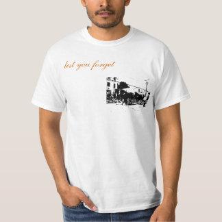 Men's Basic Horse Cart Logo T-Shirt