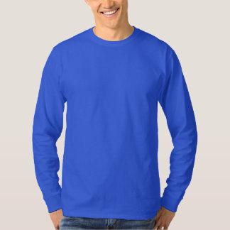 Men's Basic Long Sleeve T-Shirt DEEP ROYAL BLUE