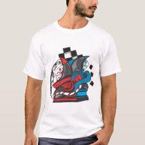 Men's Basic T-Shirt chess artwork