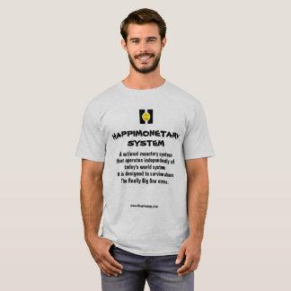 Men's basic t-shirt HAPPIMONETARY SYSTEM