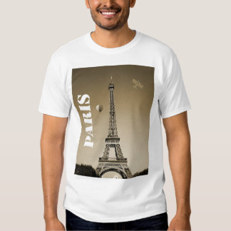 Men's Basic T-Shirt Paris France Eiffel Tower