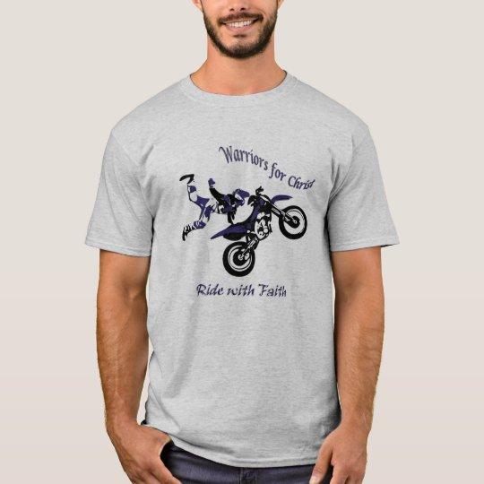 Mens basic T-shirt, WFC-Ride with Faith T-Shirt