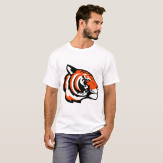 Men's Basic T-Shirt with lion head motive