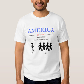 Men's Basic Tee AMERICA IS GREAT Collection, #1