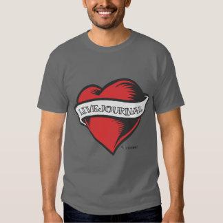 Men's Basic T's (LiveJournal Tattoo) T-Shirt