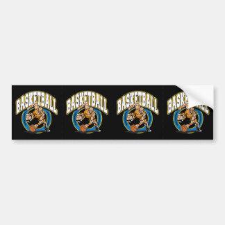 Men's Basketball Logo Bumper Sticker