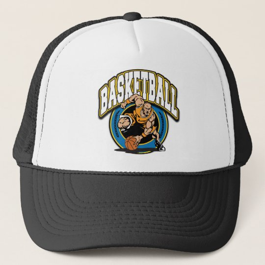 Men's Basketball Logo Trucker Hat