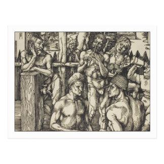 Men's Bath by Albrecht Durer Postcard