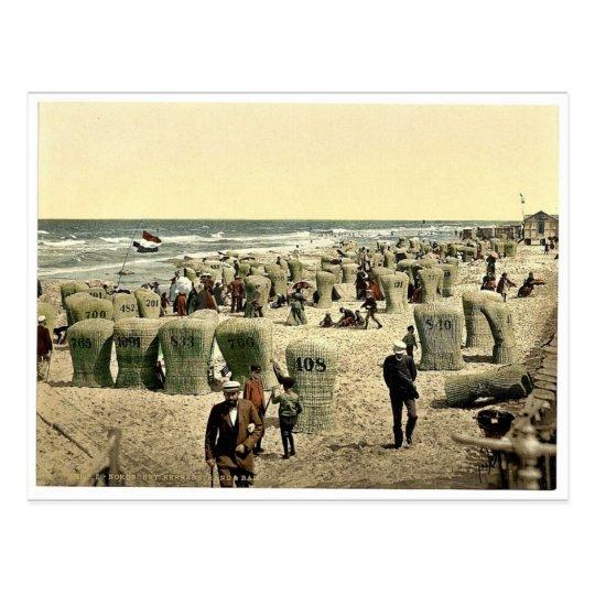 Men's bathing place, Norderney, Germany magnificen Postcard