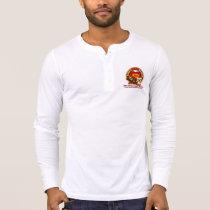 Men's Bella Canvas Henley Long Sleeve Shirt