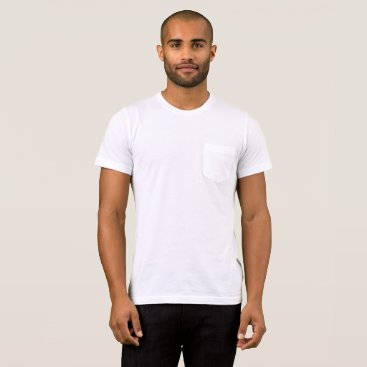 Beach Themed Men's Bella Canvas Pocket T-Shirt